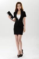 new 2014 woman suits lady suit  fashion business suits formal office uniform style blazer women work wear