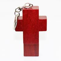 Real Full Capacity Wooden Red Cross Shape Pen Drive USB Flash Drive Pendrive U Disk Memory Stick 2g/4G/8G/16G/32G USB Drive