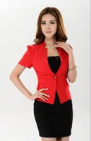spring 2014 woman suits lady suit  fashion business suits formal office uniform style blazer women work wear