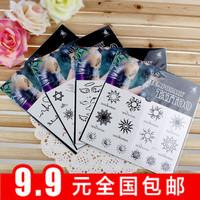 Min $10 Tattoo stickers cat letter tattoo stickers tattoo stickers waterproof