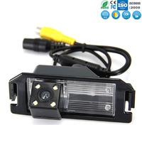Highest Nightvision 4 LEDRear car camera hd 09 hyundai I30 rear car camera surveillancewaterproof backup reverse parking cam