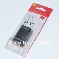 Original 1:1 For Canon Camera Battery LP-E6 LPE6 2pcs/lot with retail package