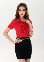 spring 2014 suits for women work wear blazer women office suit suit with a skirt  free shipping