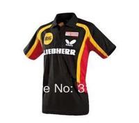 Wholesale New arrival German table tennis team competition uniforms men's T-shirt SB47168