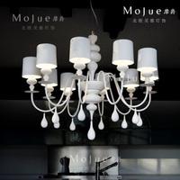 Luxury drop pendant light fashion living room lights fashion lighting bedroom lamp villa lamp project light h