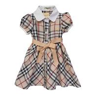 wholesale Fashion new Girls dress 2014 baby girl dress brand designer summer cotton girls' plaid short sleeve dresses kids dress