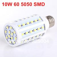 10W E27 60 5050 SMD 1080LM Corn Bulb AC 200V~240V LED Corn Lamp Lighting Free shipping