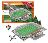 2014 Brazil World Cup DIY 3D Puzzle Laranjeiras Stadium Fluminense Football Club Field Jigsaws160 pc's/Set