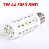 7W E27 44 5050 SMD 790LM Corn Bulb AC 200V~240V LED Corn Lamp Lighting Free shipping