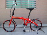 2014 New 20 folding bicycle 6 20 gentlewomen ultra-light child folding bicycle 20  Free Shipping