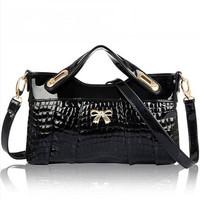 Hot Sale Bags Handbags Women Famous Brands Fake Crocodile Bolsas Femininas Ladies Shoulder Bags Evening Bag Wedding Bag New 2014