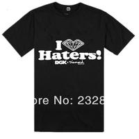 DGK T-Shirts Men's fashion short sleeve t shirt Round Neck Brand Men Casual Clothing 100% cotton hip hop t shirts freeshipping