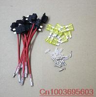 10pcs New style Circuit fuse ATO ACU 12v Tap Piggy Standard Blade Fuse Holder