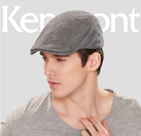 free shipping 2014 Kenmont new Man hat fashion cap spring summer day Leisure duckbill cap men's beret km-3061