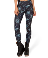 Spring 2014 New Arrival Women Galaxy Milk Clothing Designed Digital Printed WIN OR DIE HWMF Leggings Free Shipping