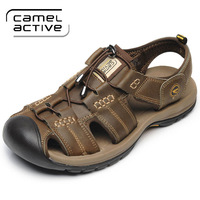 2014 Camel Active casual sandals, genuine leather breathable men's sandals, upstream shoes