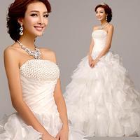 Free Shipping 2014 New Arrival Bridal Wedding Dress,Wedding Gown W0091