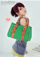 2014 New fashion Free shipping women  canvas handbag LY-H030