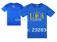 2015 new fashion last kings T-Shirt branded men designer lk t shirt hip hop cotton short sleeve t shirts plus size S-XXXL tops