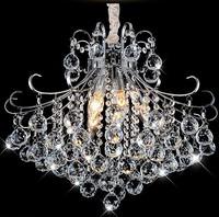 Free Shipping 2014New Modern brief led K9 crystal lamp crystal pendant light lamps lighting