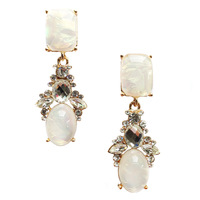 New 2014  hot sell Trend fashion crysta vintage design party girl statement Earrings for women jewelry Factory Price