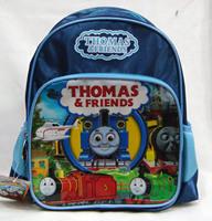 Kindergarten school bag child backpack thomas train thomas cartoon boy backpack  Drop shipping Free shipping