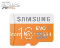 2014 New Original Genuine Samsung C10  EVO  Micro sd/sdhc  card /TF 16GB microSD Card max read speed to 48mb/s Free shipping