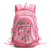 Free Shipping School bag print backpack primary school students school bag trend 1 - 3 - 6 school bag small fresh Women