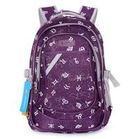 Free Shipping School bag female middle school students school bag double-shoulder female double-shoulder school bag 3 - 6