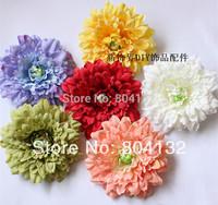 20Pcs/lot Six Colors Artificial Silk Flowers Simulation Melaleuca Chrysanthemum Daisy DIY Hair Accessory Bags Hat Shoes Corsage