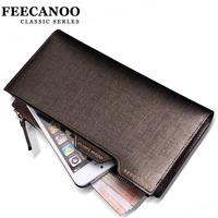 brand wallet men       casual design long  multi card holder    wallets mens  clutch    clutch  credit card  wallet carteira