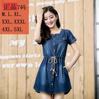 S-5XL Denim/Jeans Dress for Summer Wear Big Size Women Clothes Plus Size Women's Clothing sizeM-5XL New 2014 Spring