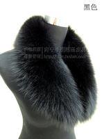 Fur fox fur collar full leather fox fur shawl collar clip scarf winter clothing