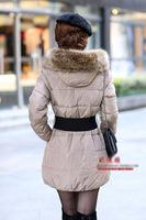 Large raccoon fur collar fur cap of wool tops muffler scarf fox