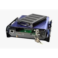 1pcs/Lot Mini 4 CH Channel Real-time Car DVR With D1 H.264 Vehicel Video Recorder DVR System Kit & hard disk Car DVR