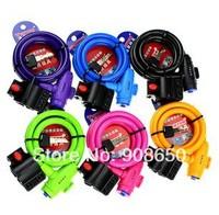 General Tonyon Lock Mountain Bike Multicolor Lock Strip-line Lock 12*1200mm Free Shipping