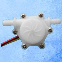 USN-HS06PA 6mm Plug 0.15-1.5L/min Small Hall water Flow Sensor POM material