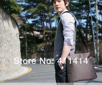 DHL Free 30PCS/LOT Fashion Plaid Unisex Canvas Shoulder Bag Message Bag Backpack Satchel Bags checkerboard Check package