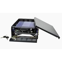 1pcs/Lot Mini 1 CH Channel Real-time Car DVR With D1 H.264 Vehicel Video Recorder DVR System Kit & hard disk Car DVR