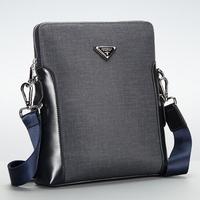 2014 New Men Bag Brand Fashion Men's PVC Designer Shoulder Bags Casual Messenger Bag For Men