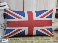 50*30cm London Olympic Decorative Rectangular UK Flag Union Jack Sherlock Holmes Movie Props Pillow Cases Cushion Cover