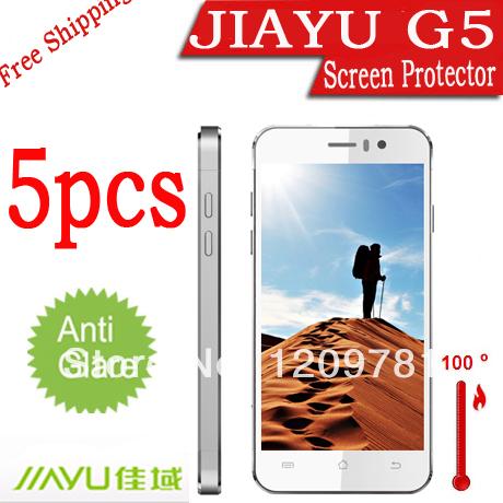 "5X New MATTE Anti Glare Anti-scratch LCD Guard Cover Film Shield for jiayu g5 g5s phone MTK6589T/MTK6592 Octa Core 4.5""inch(China (Mainland))"