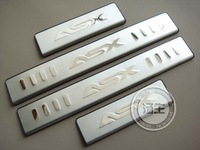 Free shipping 2010-2012 Mitsubishi ASX High quality stainless steel Scuff Plate/Door Sill