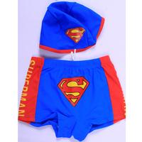 Pattern swim trunks swimwear baby boy male hat child swimwear