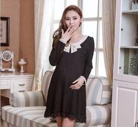 2014  New Fashion Summer Maternity Dress for Pregnant Women Dresss for Pregnancy Full Sleeve Plus Size Cb 806