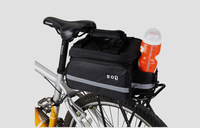 100pcs/lot Cycling Bike Bicycle Rear Frame Seat Pannier Bag Travel Pouch Package With Rain Cover