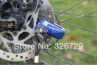 free shipping  Mini bike theft lock disc lock electric mini disc lock motorcycle lock