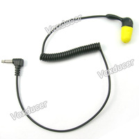Foam earbud listen only earphone with 3.5mm jack ( mono jack)
