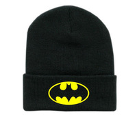 2014 batman beanie new arrival men women hip hop cap Unisex BBOY knitted hat