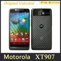 Free shipping XT907 Original Motorola DROID RAZR M XT907 Android PHone 4.3 inch 8MP WIFI GPS Dual Core 8GB ROM Refurbished